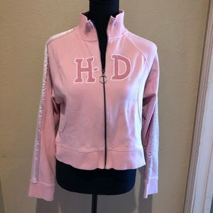 Kid's Harley-Davidson Pink Zip Up Jacket